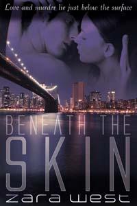 Beneath the Skin Romantic Suspense Book Cover