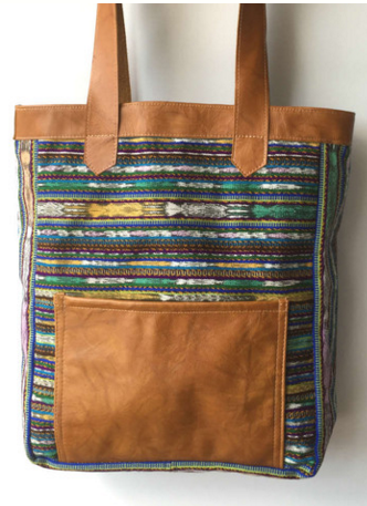 Fair Trade tote www.zarawestsuspense.com