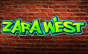 Zaea West Suspense in graffiti