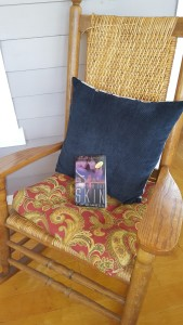 Places to read - in a rocking chair